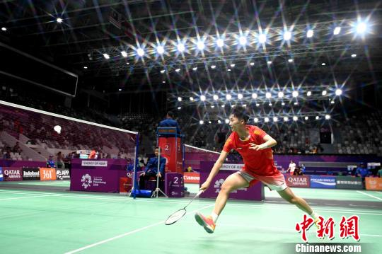 中国女羽亚运首秀 轻取马尔代夫晋级四强