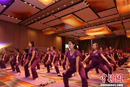 258位孕妇长沙同练生育舞蹈创世界纪录