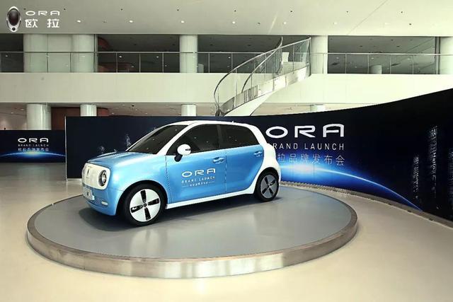 """致敬大数学家 长城发布新能源独立品牌""""欧拉ORA"""""""