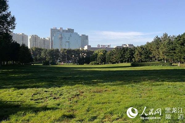 哈尔滨市敞开式多功能都市公园——湘江公园正式开园