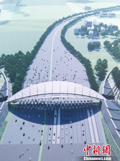新机场北线高速公路廊坊段全线开工