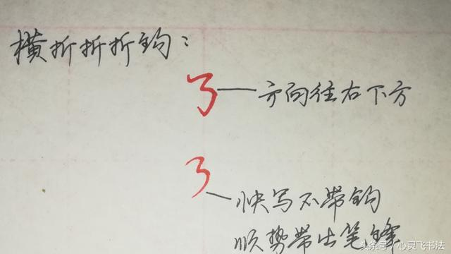 有了这方法,再复杂笔画也能写漂亮!说起来拗口的笔画横折折折钩