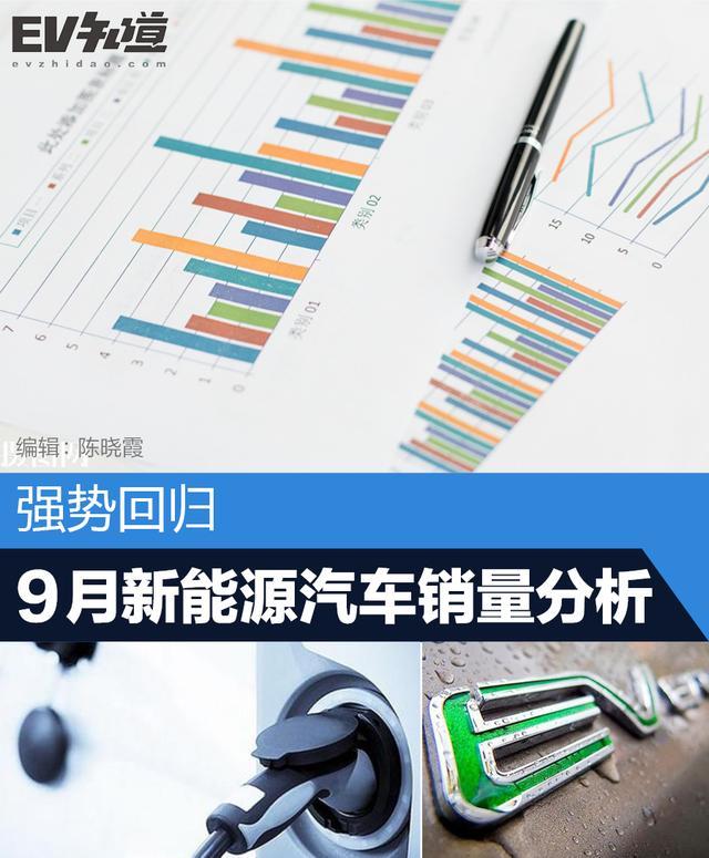 强势回归,9月新能源汽车销量分析