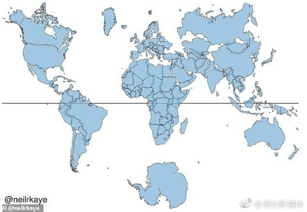 世界地图错了!俄罗斯、加拿大和格陵兰并不像现在看到的这样大