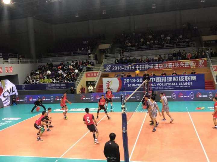 2018-2019中国排球超级联赛精英赛开赛,浙江体彩男排迎来开门红