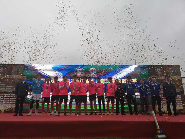 省五冠联赛圆满落幕,宁波球队摘走元年总冠军