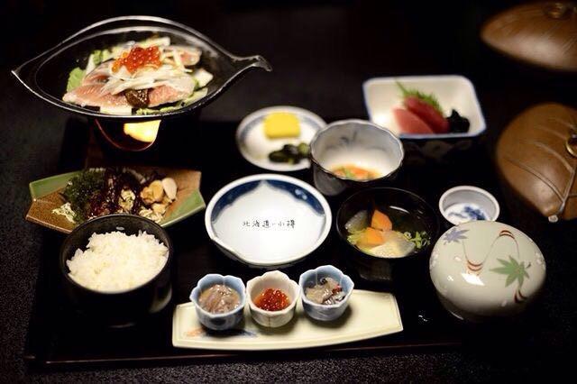 在小樽,品日本料理