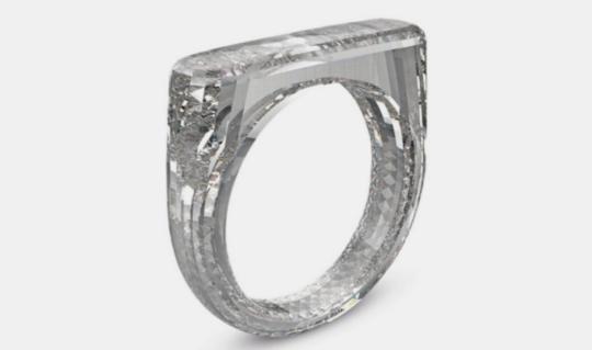 苹果总设计师最新作品:价值25万美元钻戒