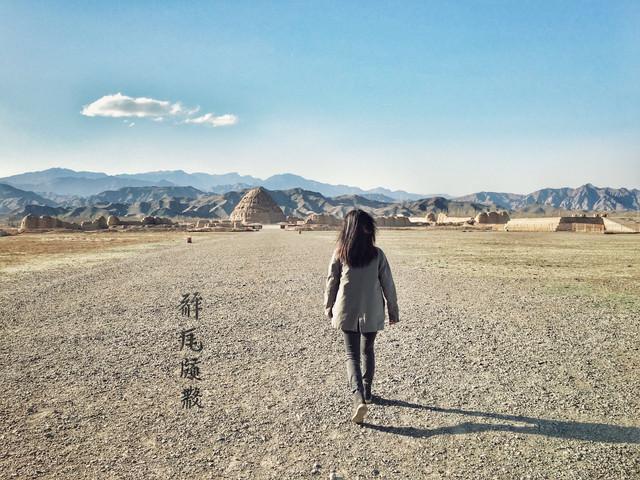 贺兰山下古冢稠,西夏王陵