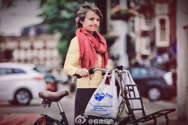 自行车上的阿姆斯特丹
