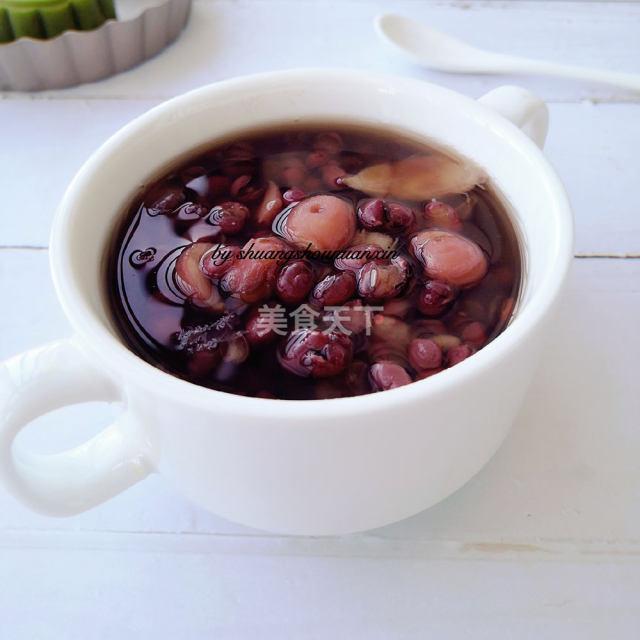 红豆莲子百合羹,秋季养生糖水,美容又养颜