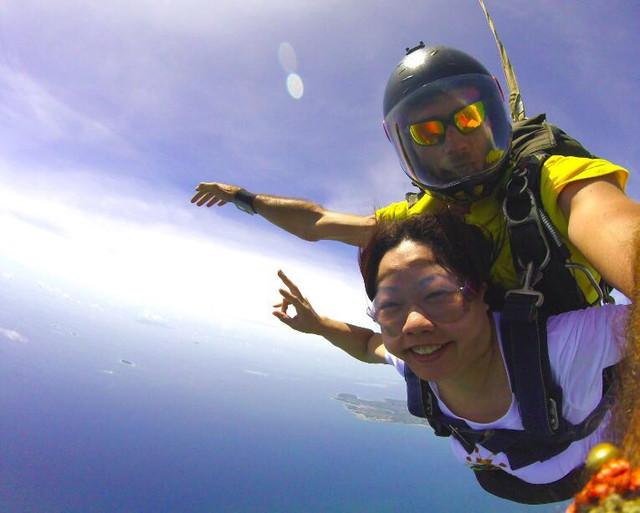斐济高空跳伞