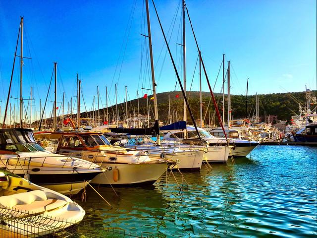 爱琴海的船