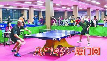 厦门集美赛区乒乓球王诞生 全市总决赛年底