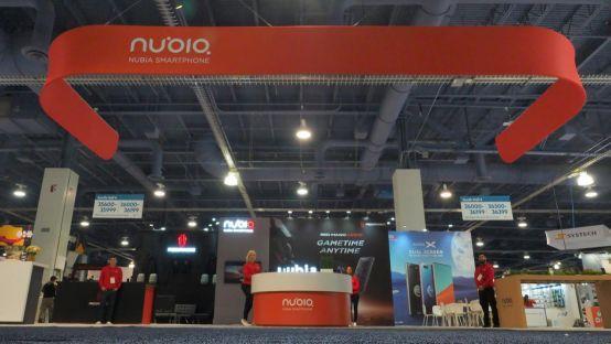 CES 2019|努比亚亮相:引领科技创新的