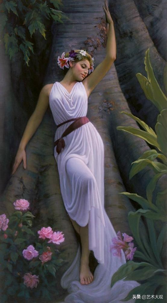 美式浪漫装饰绘画 Mark Arian油画作品集