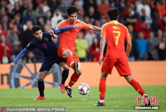 国足2:1逆转泰国挺进八强