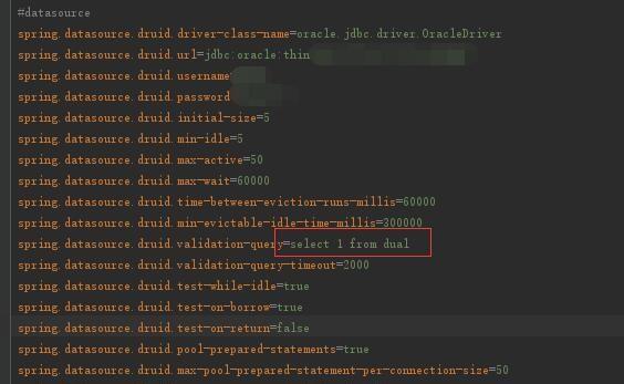 通用mapper配置druid oracle遇到:未找到要求的 FROM关键字