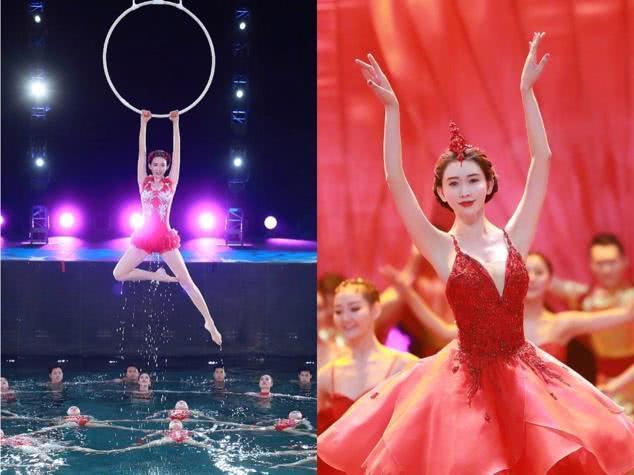 44岁林志玲高空跳水花式游泳芭蕾舞惊艳,逆天长腿身材似18岁