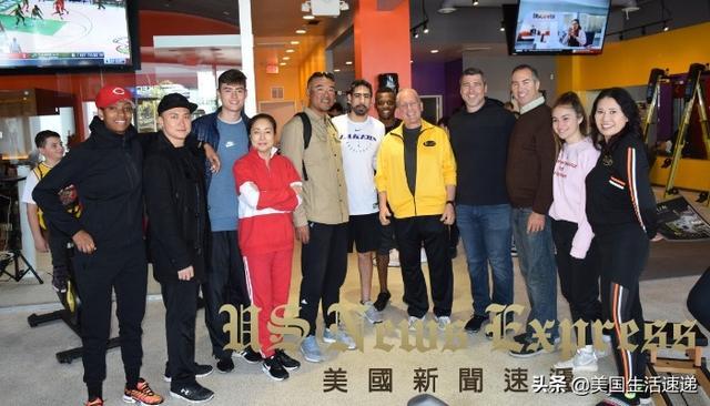 中国沙滩排球选手参访湖人队总部