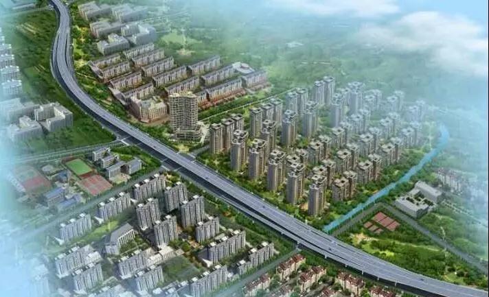一路向南,时代高架将一直南延,连通未来杭州中环