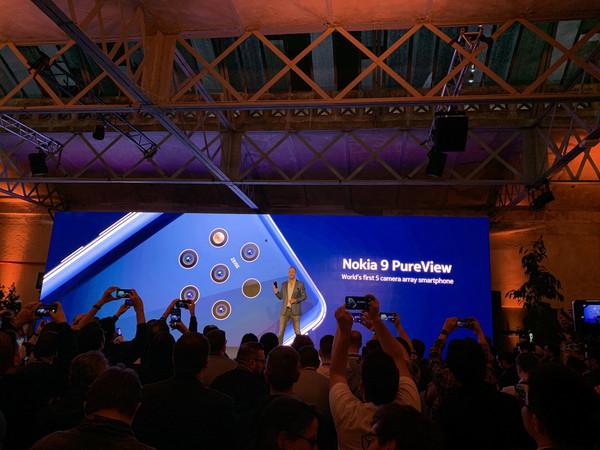 早报:诺基亚五摄神机/华为5G折叠屏手机Mate X发布