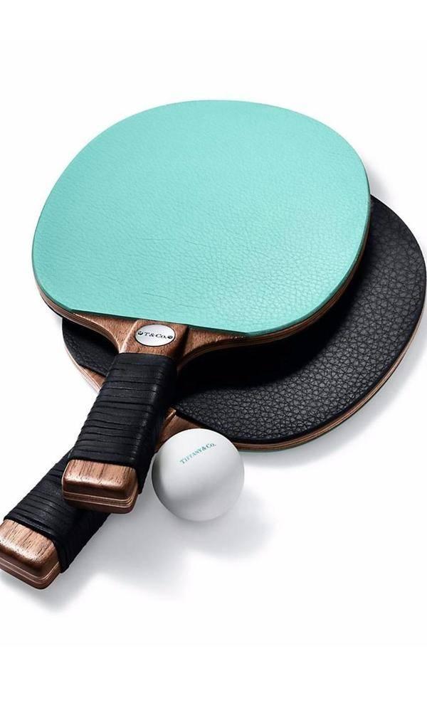 不用卖出蒂芙尼的天价,这些乒乓球拍也很好
