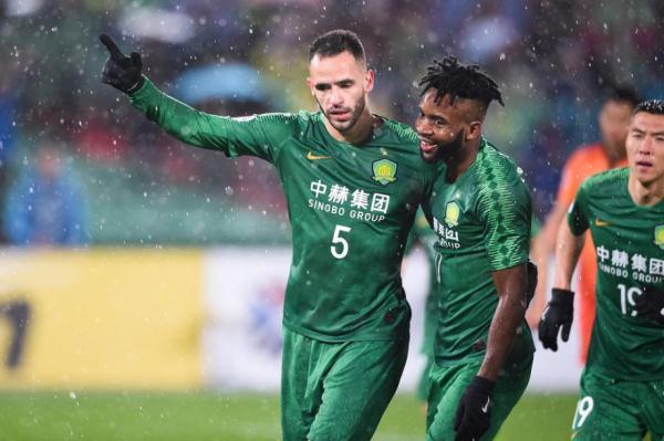 亚冠:雨中大战 国安2-0双杀武里南