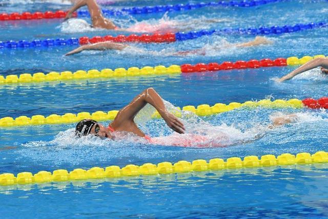 我市青少年 全国游泳赛获佳绩