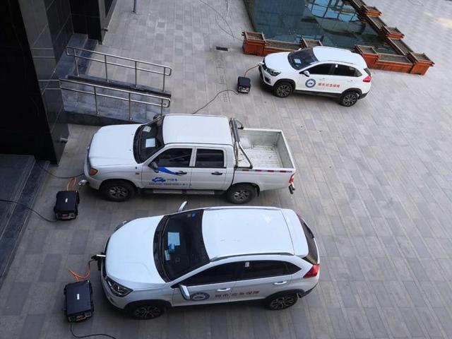 """新能源汽车""""变身""""微型发电站 石家庄研发出新能源汽车分布式储能技术"""