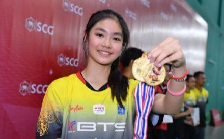 12岁羽毛球美女走红!泰国6名颜值+实力的选手 你认识几个?