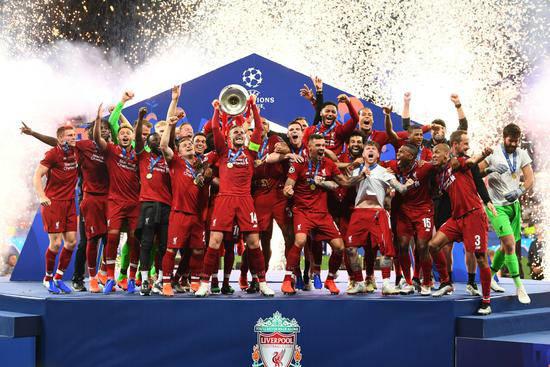 欧冠决赛利物浦冠军 渣叔实现带队四年夺冠承诺