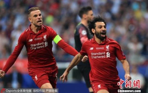 14年重返欧洲之巅!利物浦2:0击败热刺夺欧冠奖杯