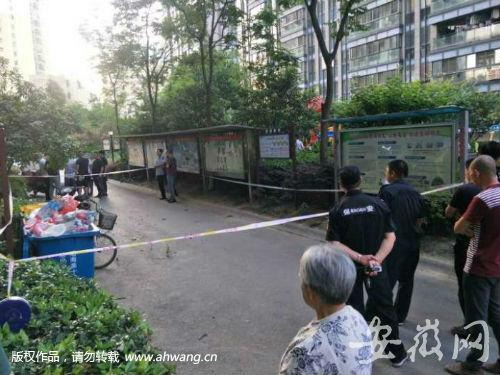 合肥银马公寓突发惨案 一男子杀害女子后跳