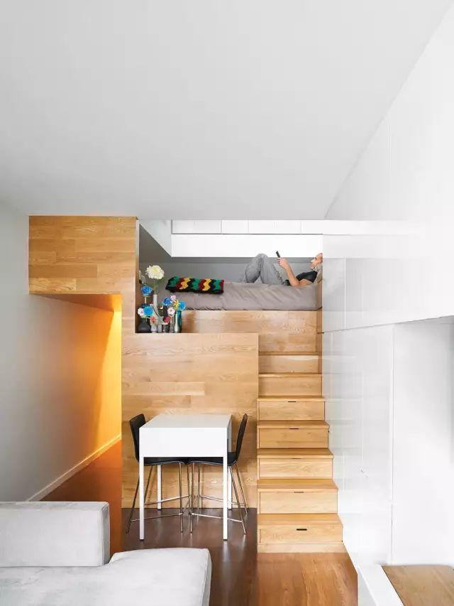 28平小公寓一张柜子都没有,卧室改书房用