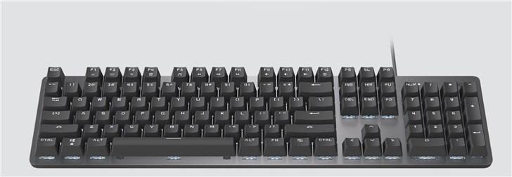 罗技发布K845机械键盘,五种背光模式,29