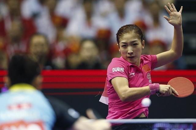 奥运冠军带妆上节目,秒变乒乓球女神,透露