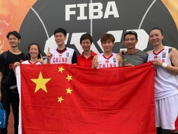 中国3x3女篮赢得世界杯冠军