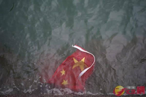 嚣张!旺角游行后,暴徒竟对国旗下手