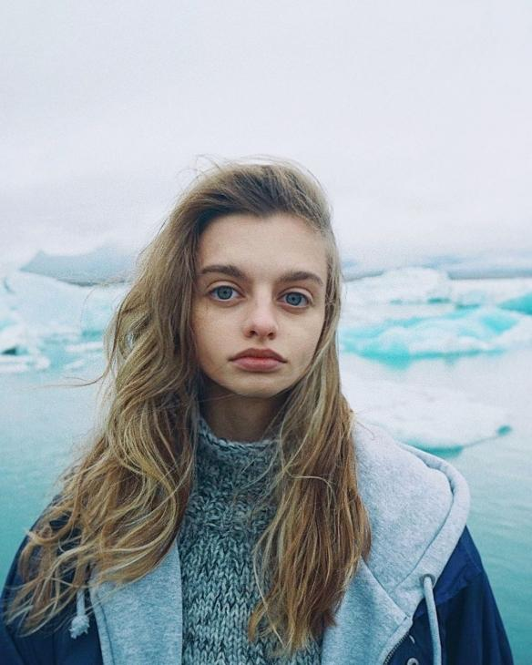 """世界最大眼睛!俄罗斯""""怪怪美少女""""Maria Oz美图赏"""
