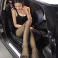 台湾知名长腿女神,黑色丝袜的统治者!