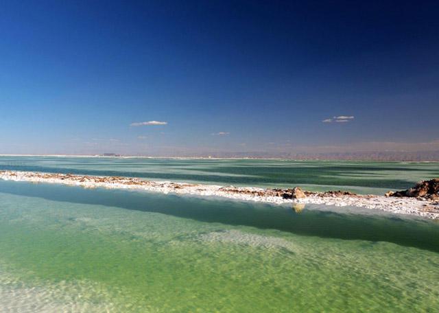 世界上最著名的内陆盐湖之一,储存量可供全世界人食用一千年!