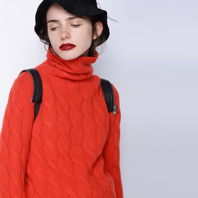 根据脸型挑衣服,看看这几件针织衫哪款最适合你