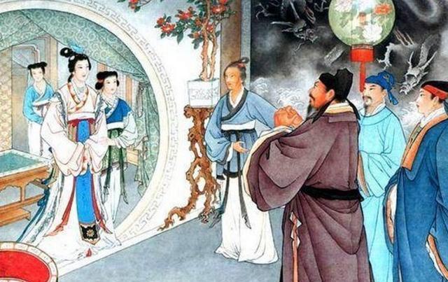 写皇帝召妓词曲,酒楼茶肆传唱,皇帝大怒,却处理的有人情味