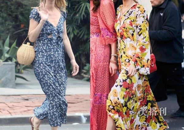 明星们都喜欢的长款连衣裙来了,飘逸灵动的造型,你喜欢哪种呢?