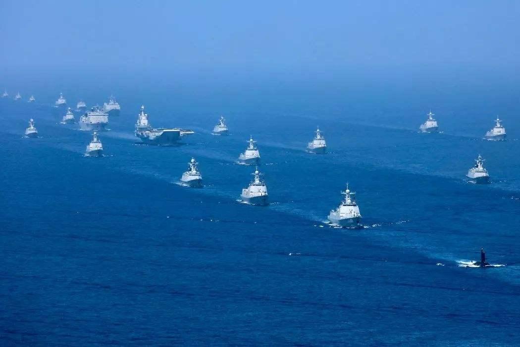 中国最接近战争的一次,三大舰队正面对抗航母,东风导弹临危受命