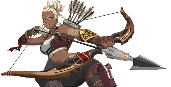 《王牌战士》莫甘是最优秀的猎手