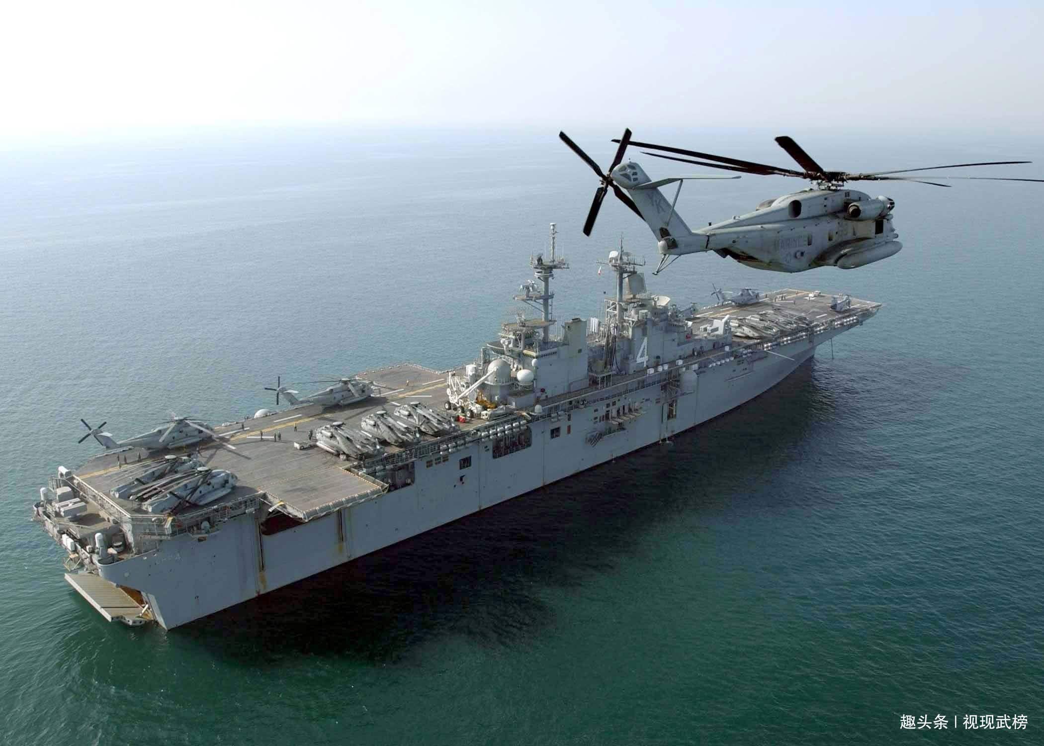 075两栖攻击舰神秘现身,1号舰完工大半,首批三艘,满载3万吨