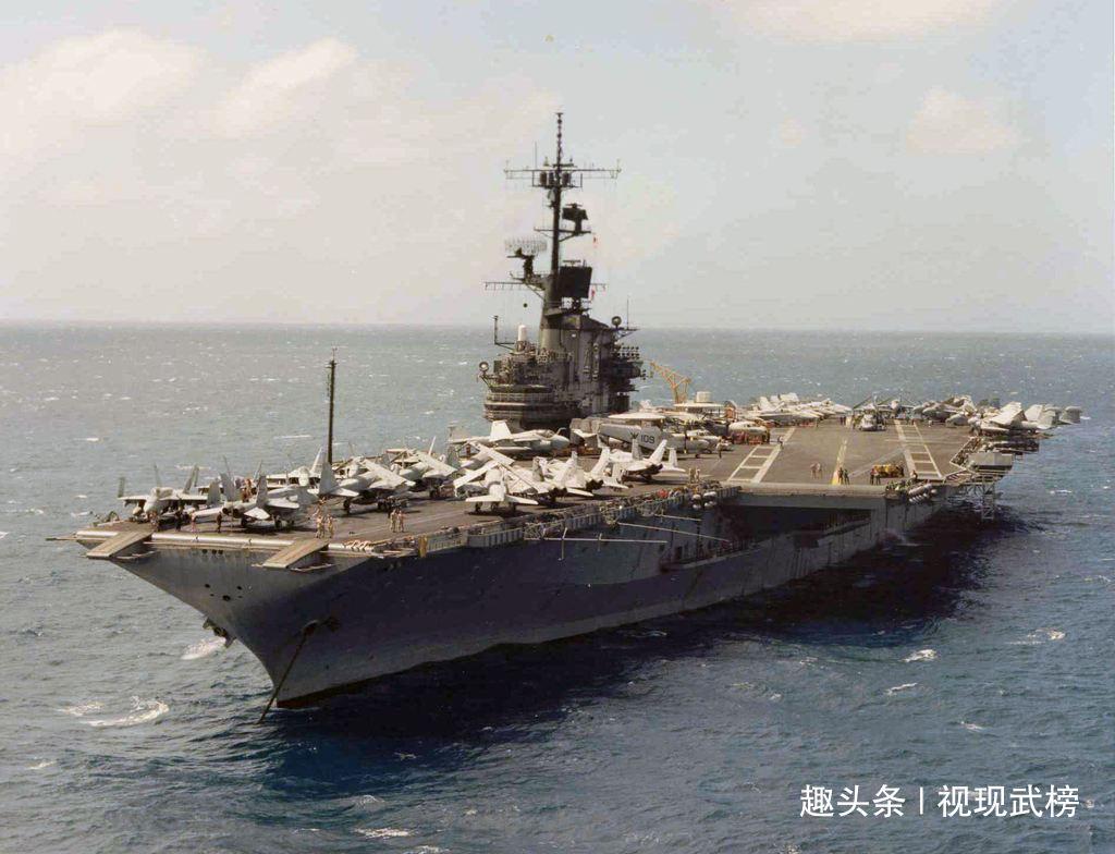 尴尬!美15年才能拆完核航母,耗费100亿!印度居然8个月就完成了