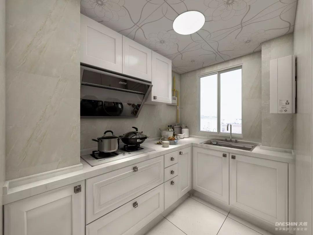 装修案例:25个经典白色厨房,准备好被美晕了吗?
